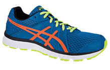 Asics Gel Volt 33  Chaussures running asics Homme orange/bleu
